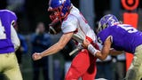 Highlights from the CAAC Red showdown between Mason vs. Fowlerville high school football game on Oct. 4, 2019.
