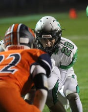 Clear Fork's Brennan South accounted for four touchdowns in a 31-21 win over Galion on Friday night that brought the Colts back into the MOAC title picture.