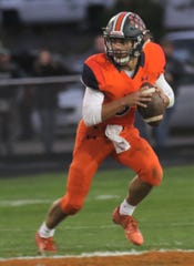 Galion's Wilson Frankhouse threw three touchdown passes, two for more than 60 yards, in a 31-21 loss to Clear Fork on Friday night.