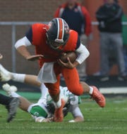 Galion's Wilson Frankhouse has a chance to lead his Tigers to an MOAC title on Friday night with a win over Pleasant on the road.