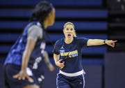 New Marquette women's coach Megan Duffy has six freshmen, a transfer sophomore and just five returning players.