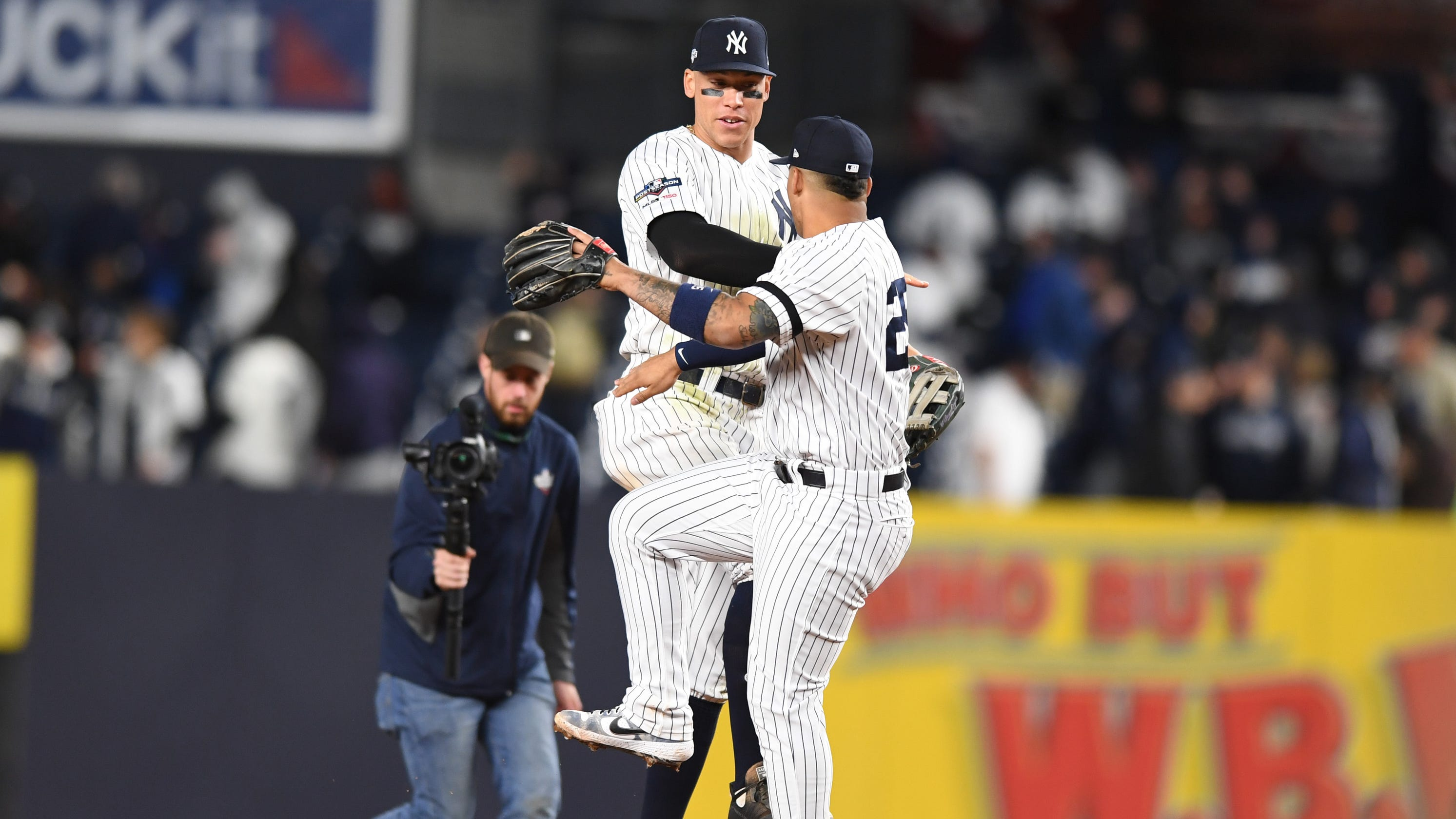 What They Said New York Yankees React To Alds Game 1 Win