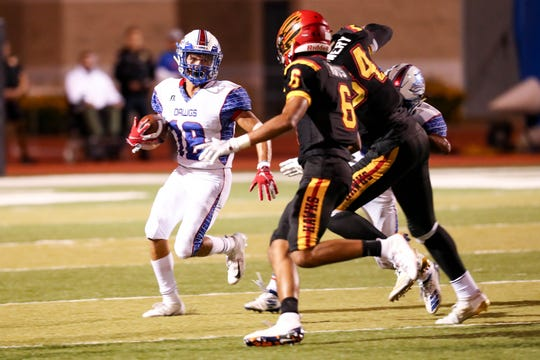 The Las Cruces Bulldawgs moved up to No. 5 on the latest NMOT Sports football coaches poll.