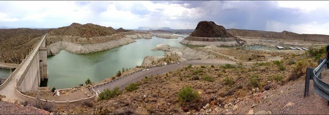"Kenneth ""K.C."" Carroll, an associate professor in NMSU's College of Agricultural, Consumer and Environmental Sciences, James P. King, a professor and associate department head in NMSU's College of Engineering, and Erek H. Fuchs, the groundwater resources director for EBID have observed a significant amount of refilling of the Elephant Butte Reservoir after storage in the reservoir decreased to a very low-level the summer of 2018. However, this summer it refilled to 1/2 full storage."