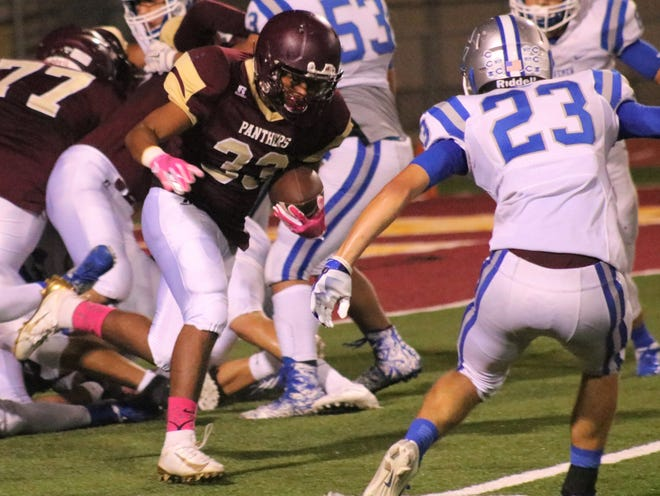 Carlsbad defeated Gadsden 42-6 in District 3-6A play on Friday at Gadsden.