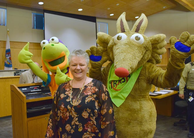 Vicki Lusk, who recently wrapped up a 20-year career at Doña Ana County, left a lasting legacy among many county departments.