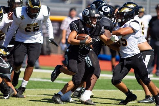 The Oñate Knights kick off Week 10's high school football action with a home game against Gadsden on Thursday at 7 p.m.