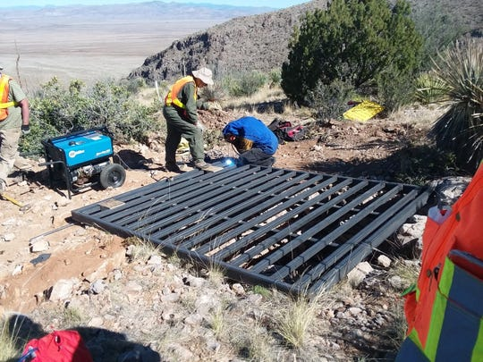 Along with its research partners, the BLM works with Bat Conservation International to protect the bat's roosting habitat, including the installation of bat gates and copulas over abandoned mines located on public land. These structures keep people and large animals out, but allow bats to fly in and out without a problem.