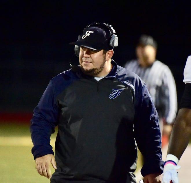 Farmington head coach Kory Cioroch. Farmington earns its sixth win of the season with a 51-24 victory against Avondale.