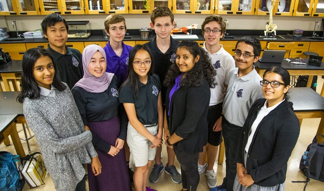 Students at Arizona College Prep in Chandler are working on a grant proposal to M.I.T. that consists of a headband to help combat Arizona's heat.