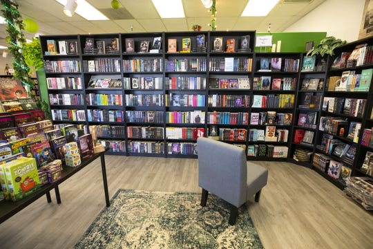 Enchanted Chapters bookstore on Oct. 3, 2019, in Phoenix, Ariz. The bookstore is meant to be inclusive, particularly for children with autism.