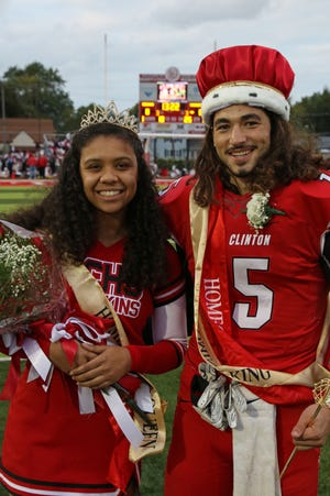 Carli Laurel and Zach Weldon were crowned Port Clinton's 2019 Homecoming Queen and King on October 4.