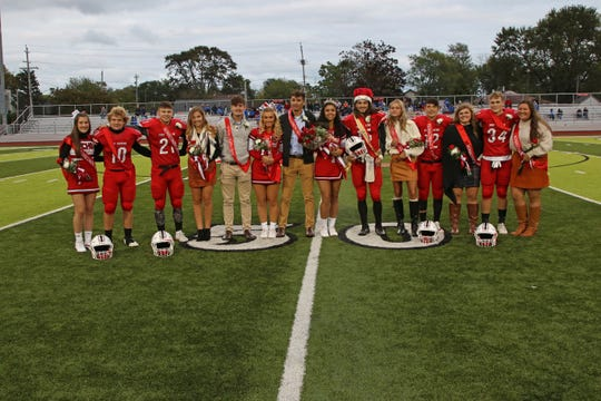 Port Clinton's 2019 Homecoming Court was honored on Friday night.