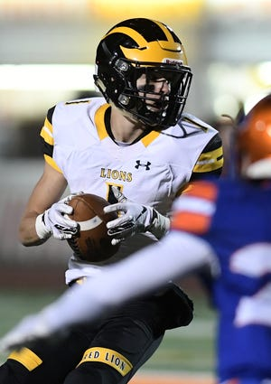 Randy Fizer is transitioning back to quarterback for Red Lion High School this season. He spent the last two seasons as a standout wideout.