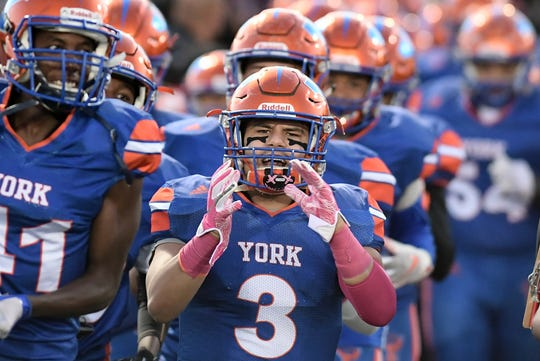 The York High Bearcats' football team is 4-0 in York-Adams Division I action.