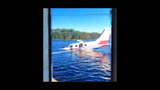 A man who helped rescue the pilot and passenger of a plane that went into the Susquehanna River shared this raw footage from the scene.