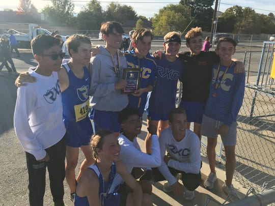 The Reed boys cross-country team won the Reed Invitational on Oct. 4.