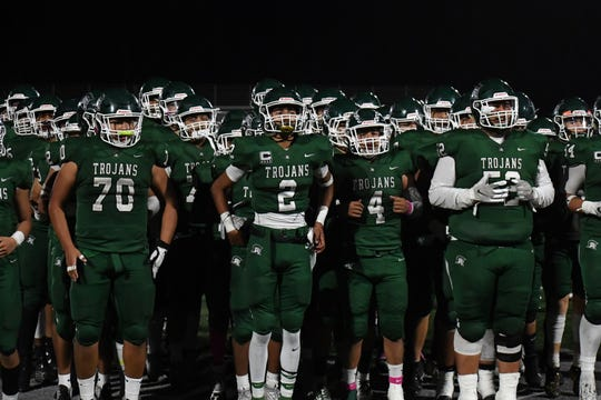 The Alisal Trojans take their undefeated league record on the road to Monte Vista Christian Saturday night.