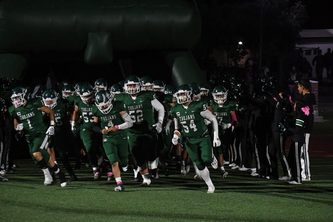 The Alisal Trojans' Friday night game against Santa Teresa is their second home playoff game in school history.