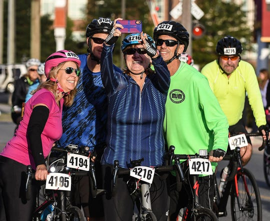 """The 31st annual Sea Gull Century bicycle tour Saturday, Oct. 5, 2019, drew thousands to Wicomico County for a tour that has been called a """"Best Bicycling in America"""" event and also was named among the top 10 century rides in the nation by Bicycling magazine."""