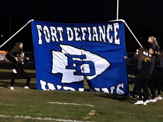 Fort Defiance heads into district play with a winning record after beating Broadway Friday.
