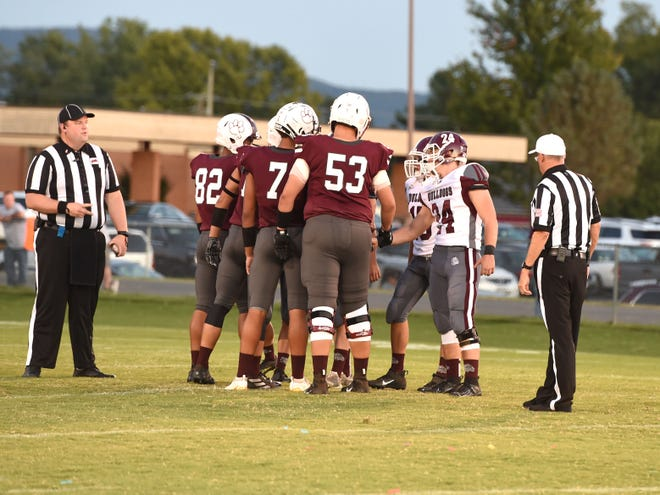 Stuarts Draft's Will Jones (53) will be leaving the Cougars for IMG Academy in Florida this coming school year.