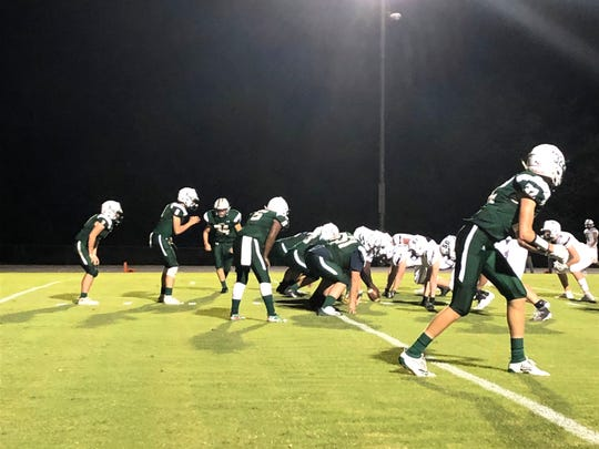 Wilson Memorial hosted Turner Ashby Friday night in a nondistrict football game.