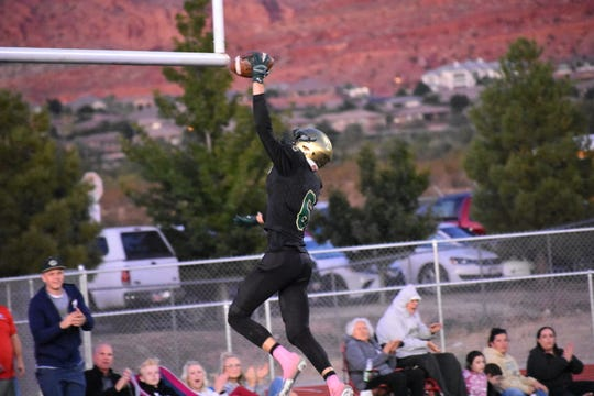 Snow Canyon defeated Cedar 55-10 on Friday, October 4, 2019.