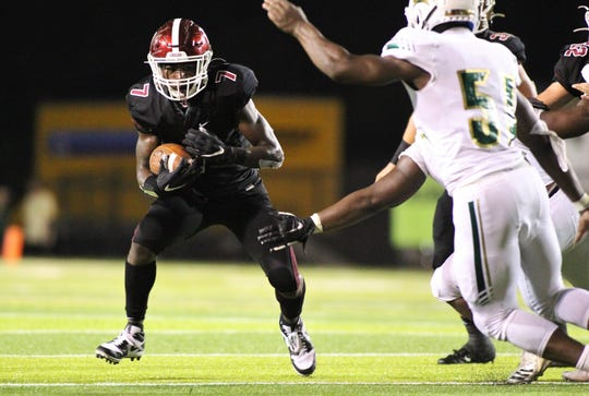 Chiles sophomore running back Chase Gillespie went over 100 yards rushing and scored a 1-yard touchdown as Lincoln beat Chiles 26-14 at Gene Cox Stadium on Friday, Oct. 4, 2019.
