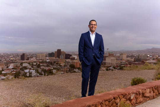 Carlos Gallinar is running for mayor of El Paso.