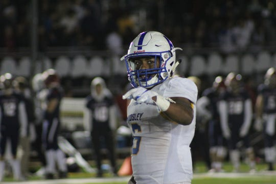 Ardsley's Jalen Osbourne accounted for two touchdowns in the Panthers' 24-17 win against Byram Hills, including a 23-yard touchdown pass on a trick play for the go-ahead score.