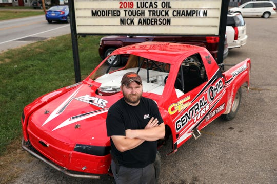 A victory in Indianapolis last month lead Zanesville's Nick Anderson to the 2019 Lucas Oil Modified Tough Truck National Championship.