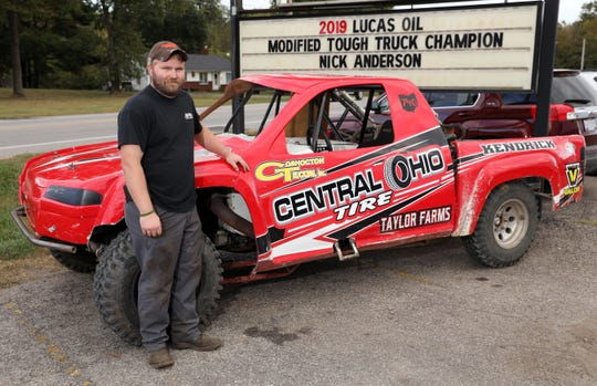 Nick Anderson won the 2019 Lucas Oil Modified Truck National Championship.