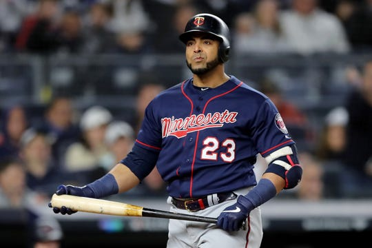 Despite hitting a home run, Nelson Cruz and the Twins lost Game 1 to the Yankees.
