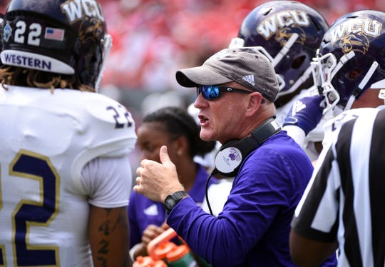 Western Carolina coach Mark Speir has parted ways with three of the Catamounts' coordinators after a second consecutive three-win season.
