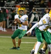 Montgomery's Marco Lainez is part of a 1-2 quarterback punch, along with Ryan Furey, employed by the Cougars this season.