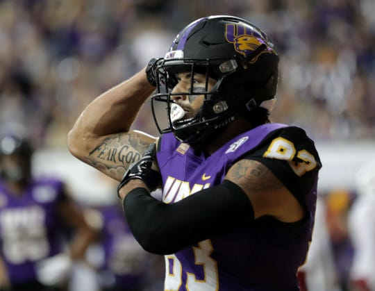 Jaylin James and the UNI offense came up with the big plays it needed in Saturday's win over Youngstown State.