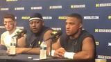 Michigan's Khaleke Hudson said coordinator Don Brown challenged the defensive players this week.