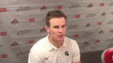Michigan State's Brian Lewerke, Darrell Stewart, Joe Bachie and Raequan Williams talk about the loss to Ohio State.