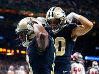 Saints vs. Bucs Rapid Reaction: 'TEDDY' Bridgewater leads Saints by Tampa Bay, 31-24
