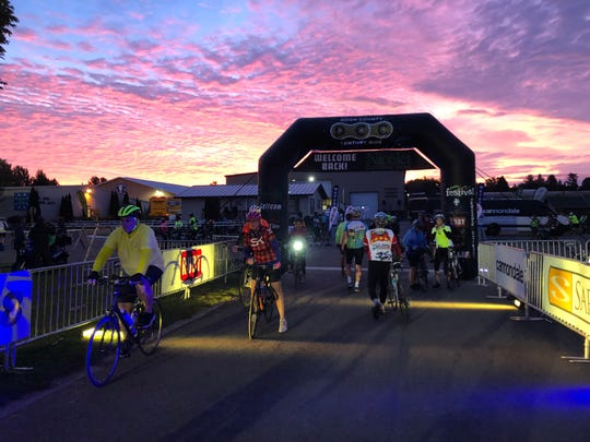 3,000 riders trek up to Door County every September for the Door County Century Ride