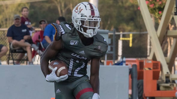 University of Louisiana at Monroe would lose to Memphis 52-33 at Malone Stadium in Monroe, La. on Oct. 5.