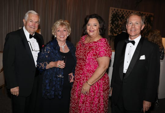 Ronald and Marty Ligon (left) are pictured with Sondra Morris and Randolph Beales at the 46th Annual Heritage Ball held at the Eastern Flank Battlefield Park on Saturday, Oct. 5, 2019.