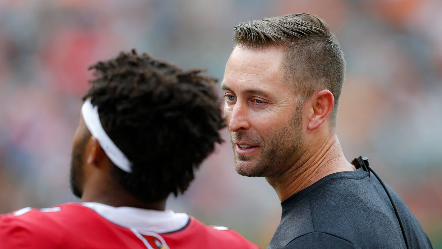 Kliff Kingsbury earns first win as NFL head coach, but will have to continue proving himself