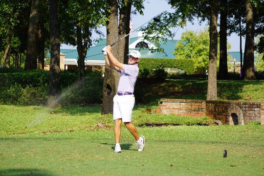 LSU sophomore Hayden White, a former Benton High star, posted a 17-under total for 54 holes in the David Toms Intercollegiate at Southern Trace, good enough for co-medalist honors.