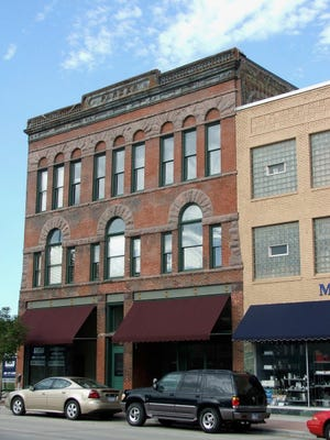 The Parker Block on N. Main Avenue in Sioux Falls.