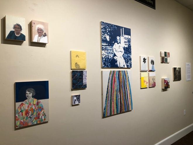 """Tallahassee artist Lisa Qualls has exhibition entitled """"These People Are My People"""" at Gadsden Arts."""