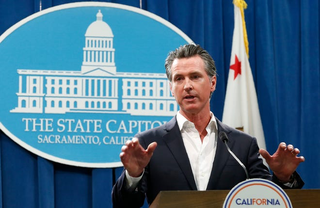 California Gov. Gavin Newsom in September.
