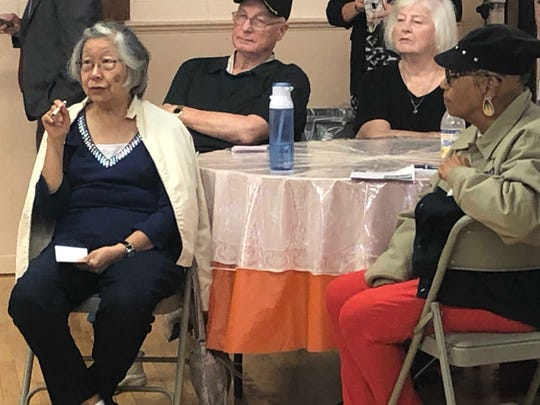 Voters in Long Branch discuss the rising cost of prescription drugs at a meeting hosted by Rep. Frank Pallone, D-N.J.
