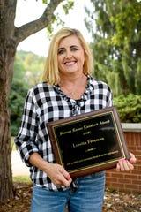 "Loretta Freeman was awarded the 2019 Bascom Lamar Lunsford Award during the annual Bascom Lamar Lunsford ""Minstrel of Appalachia"" Festival at Mars Hill University October 5, 2019."